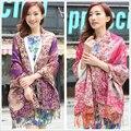 Free Shipping Hot Sale Bohemia Style Women's Cashmere Pashmina Shawl Scarf Wrap SH-0222