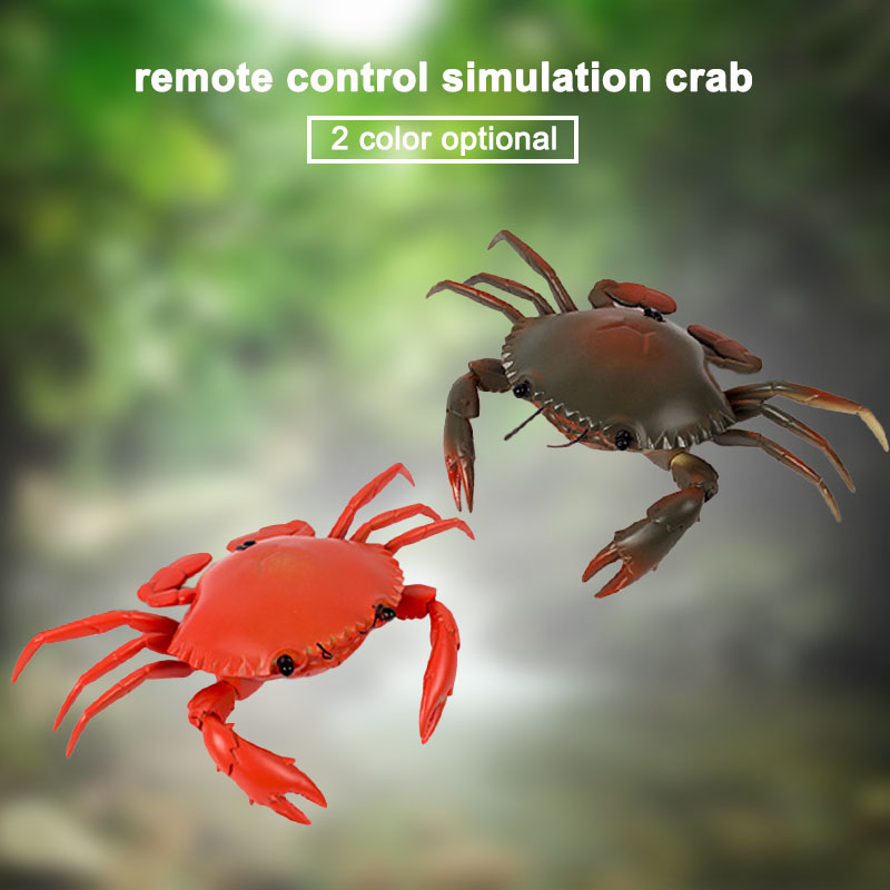 Remote Control Crab Toy Children Simulation Electric Battery-Operated Artificial