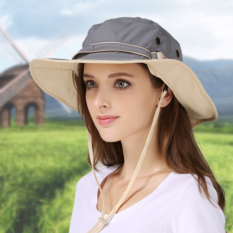 Տղամարդկանց կանանց լայն շերեփ գլխարկ - Հագուստի պարագաներ - Լուսանկար 4