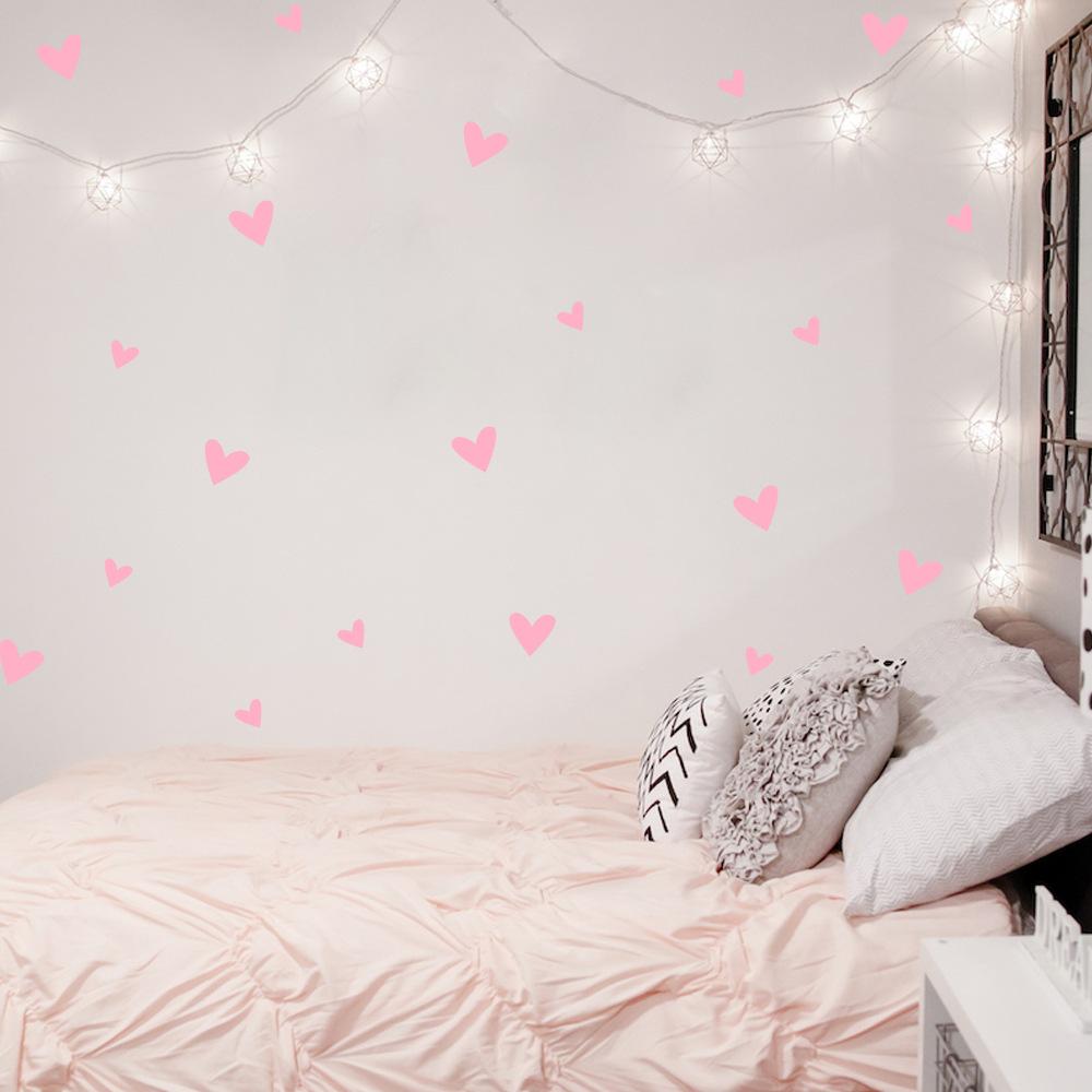 HTB1Y2t0QXXXXXXyaXXXq6xXFXXXf - Love Heart Wall Decal For Kids Room