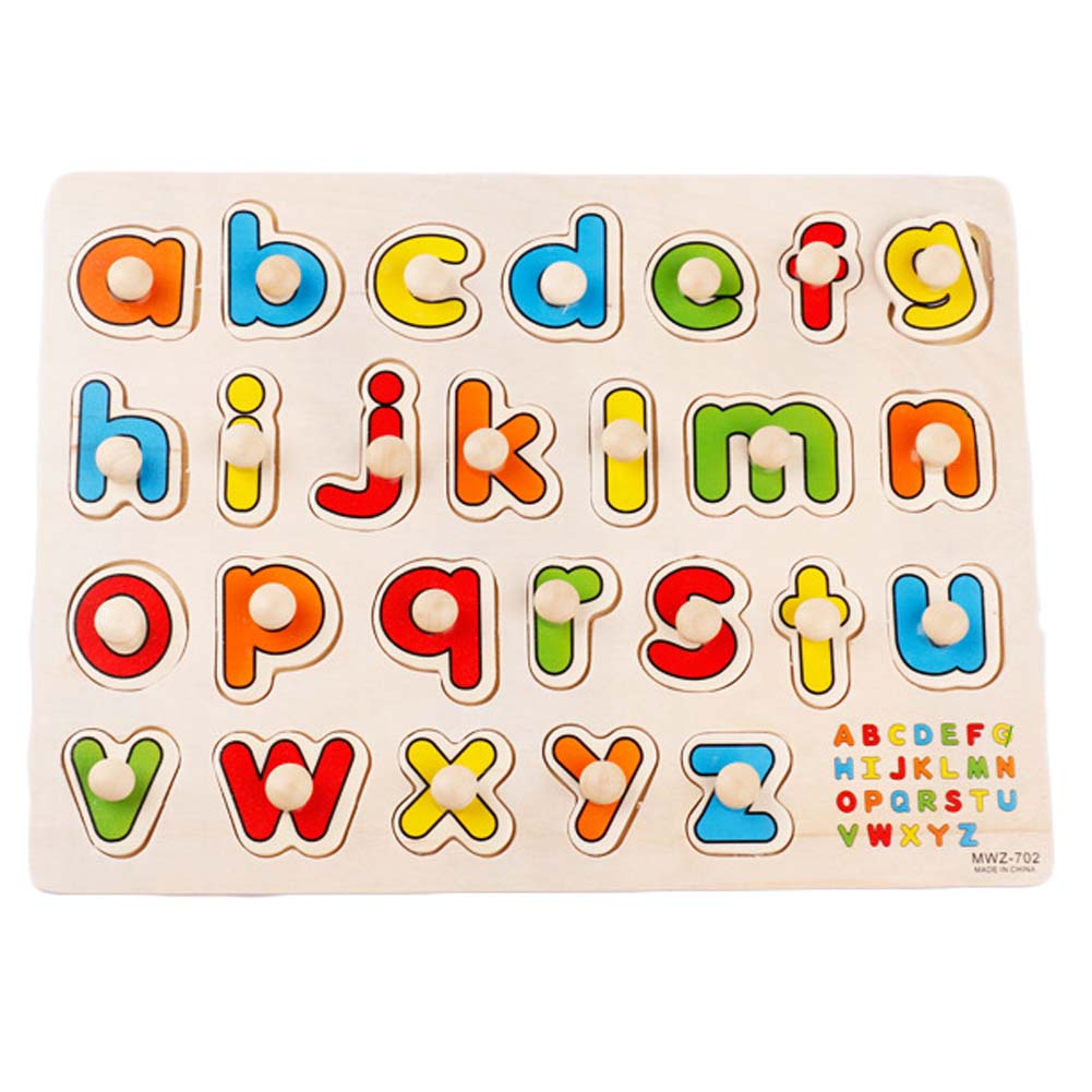 New Kid Cognitive Grasp Plate 3D Puzzle Number Letter Color Shape Transportation Cartoon Insect Vegetable Marine Animals Toy hand grasp knob pegged puzzle wooden quality animals characters letter cognitive board children recognization toys