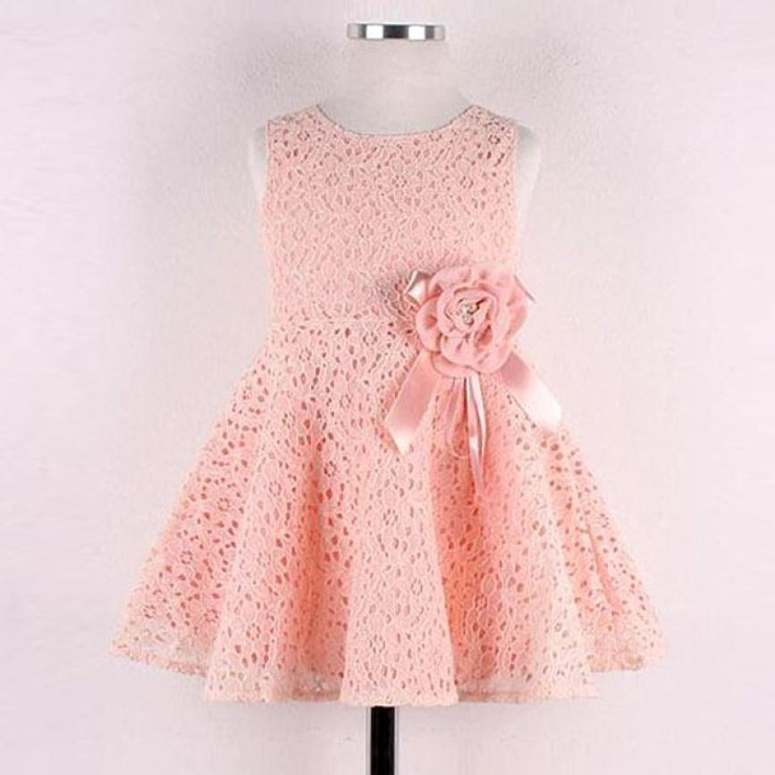 flower girls dresses for party and wedding Kids Full Lace ...