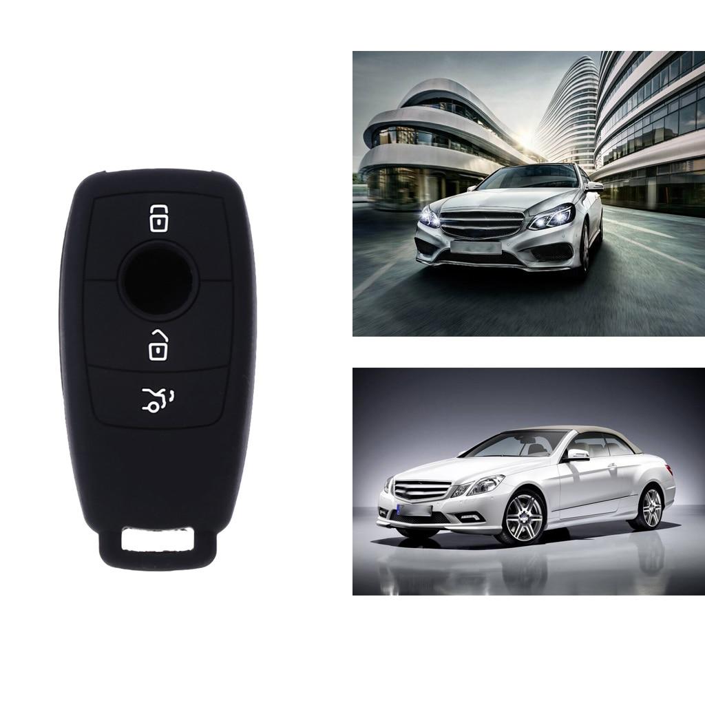 Silicone caso capa chave do carro protetor para mercedes bnez w213 e200 e300 e400 e63