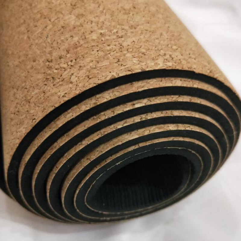 Natural Rubber Tpe And Cork Yoga Mat Non Slip Just