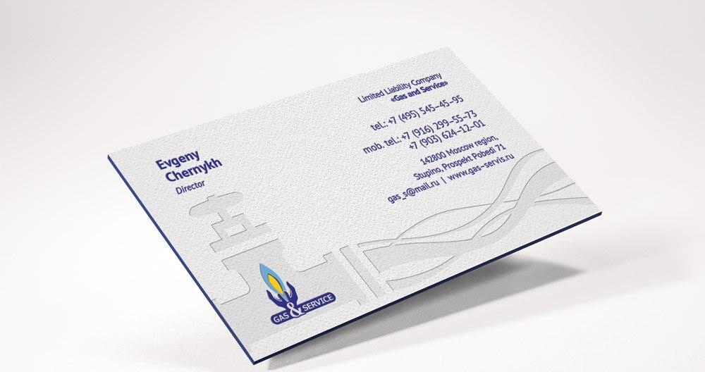 Custom letterpress business cards duplexed 600gsm cotton paper ...