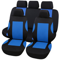 CNIKESIN Fashion Tire Track Detail Style Universal Car Seat Covers Fits Most Brand Vehicle Seat Cover Car Seat Protector styling