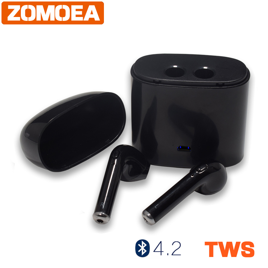 ZOMOEA Subwoofer headset Wireless Bluetooth 4.1 Earphone Sport Running Headphone Super Bass Headset  Earbuds With Mic for iphone
