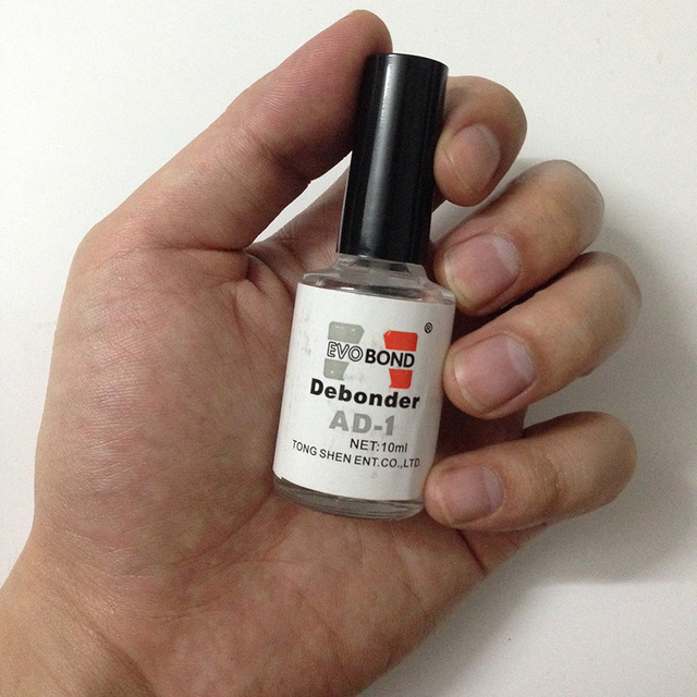 1pc 10ml degreaser for nails with Brush Efficient Fast Removers for Nail Polish Sticker Decoration Fake Nail cleanser