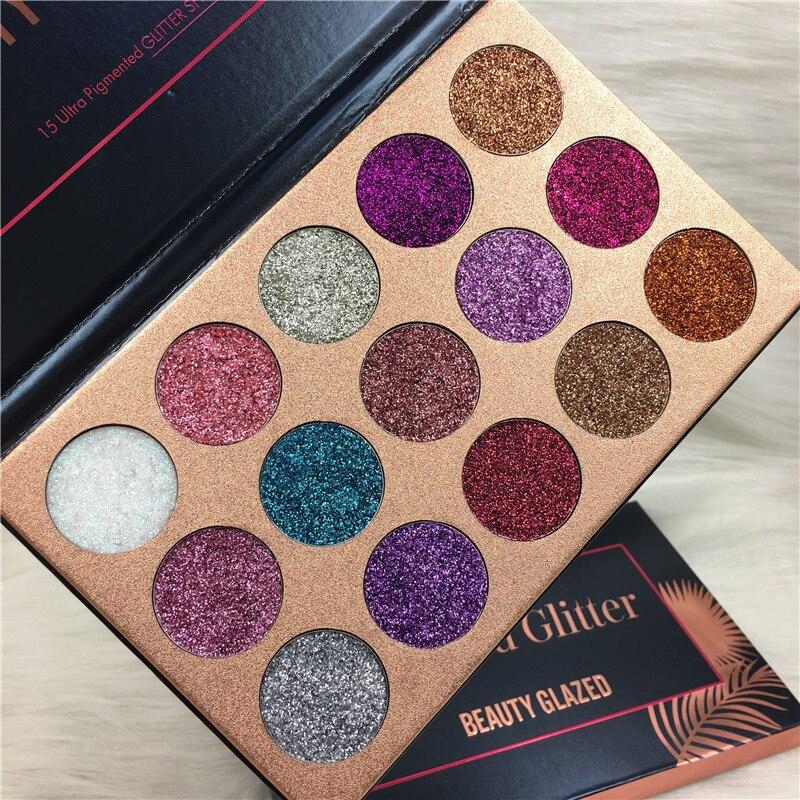 Diamond Glitter Eyeshadow Makeup Palette (13)