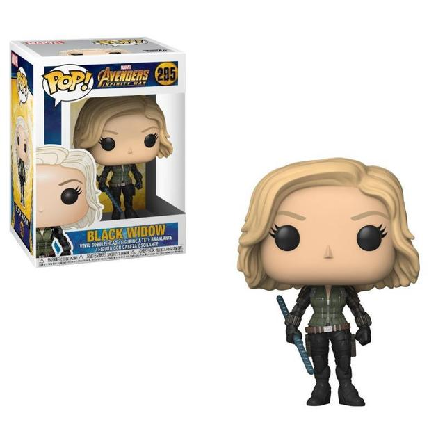 Funko POP Marvel Toys The Avenger Black Widow Pvc Action Figure Collectible Model Doll For Children Birthday Christmas Gift