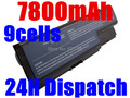 7800MAH Battery AS07B31 AS07B41 AS07B51 AS07B61 AS07B71 AS07B72 AS07B42 For Acer Aspire 5230 5235 5310 5315 5330 5520 5530