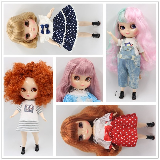 ICY Neo Blythe Doll Colorful Hair Plump Body