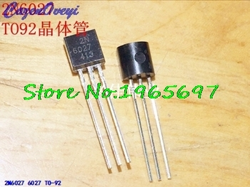 10pcs/lot 2N6027 6027 TO-92 New Original In Stock - discount item  8% OFF Active Components