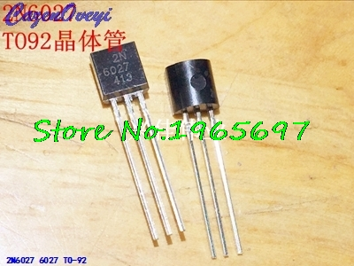 10pcs/lot 2N6027 6027 TO-92 New Original