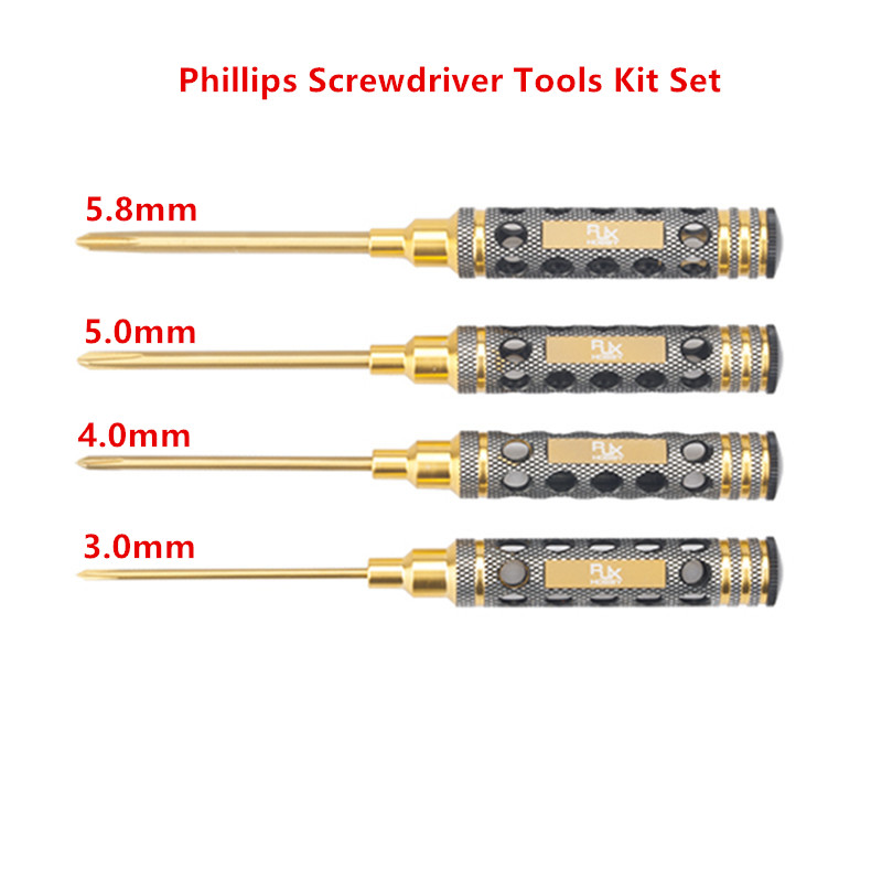 Hollow Handle Hex Screw driver Tools Kit Nut Drivers Flat Head Screw driver Tools Kit Set Phillips Screwdriver Tools Kit Set 4pcs set 1 5mm 2 0mm 2 5mm 3 0mm hex head hexagon screw driver tools for rc car boat airplane drone