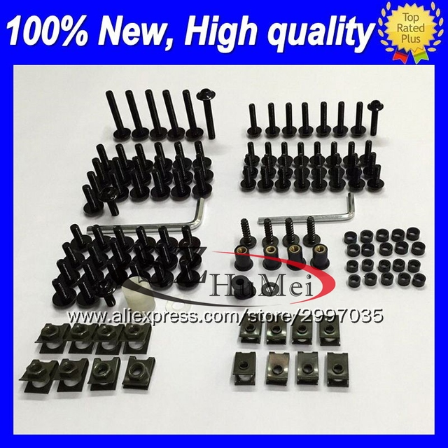 Complete Screws and Fasteners kit TL1000 Bolts 98 99 00 01 02 03 Suzuki TL1000R 1998-2003 Motorcycle Fairing Bolt Kit