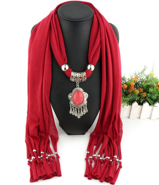 2018 new arrival charms scarf water drop pendant jewelry scarves 2018 new arrival charms scarf water drop pendant jewelry scarves necklace scarf long tassel scarves necklace aloadofball Images