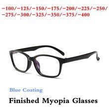 -1.0 -1.25-1.5-1.75 -2.0 -2.25 -2.5 -2.75 -3.0 -3.25 -3.5 -4.0 preto PC Miopia Terminou Óculos de Miopia Quadros Das Mulheres Dos Homens