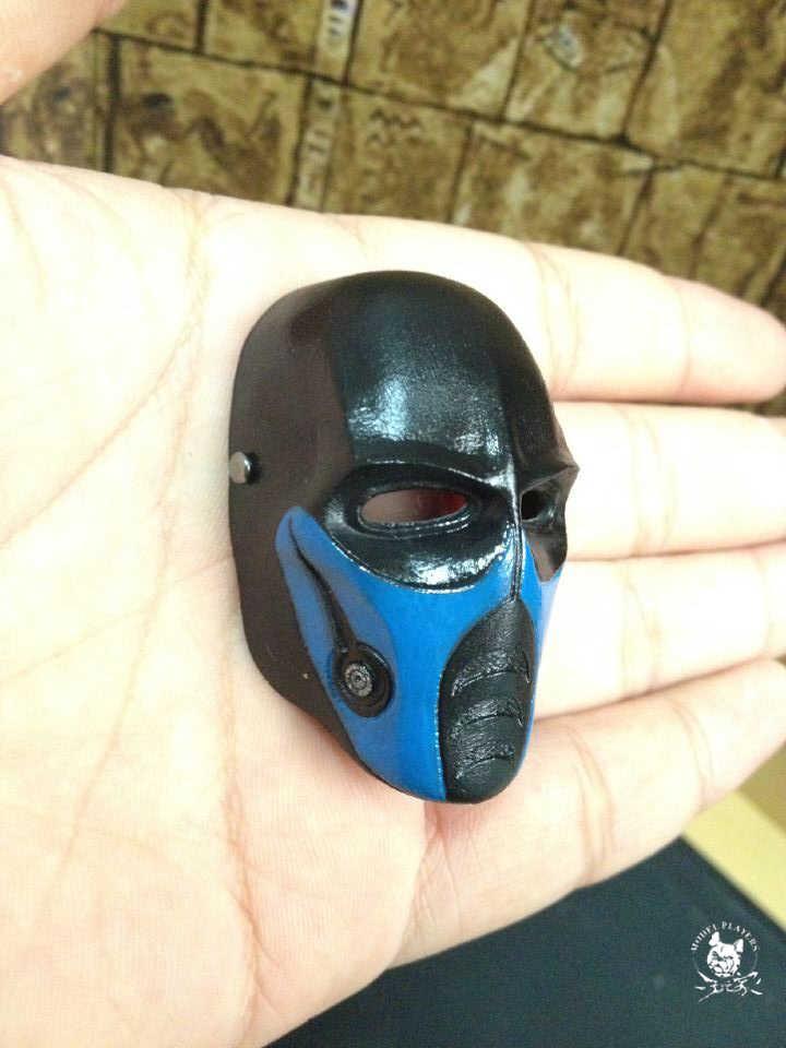 Новые изящные 1/6 весы солдат мини маска армия из двух минусовых для вентиляторы коллекция