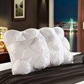 Peter Khanun Luxury Design 3D Rectangle White Goose/Duck Feather Down Pillows Down-Proof 100% Cotton Shell Bedding Pillow 013