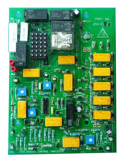generator parts Printed Circuit Board for gensets FG WILSON PCB 650-091