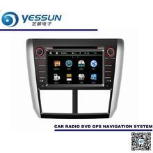 Dla Subaru Forester/Impreza/Outback-Sport/WRX 2011-2015 Samochodowy Odtwarzacz DVD Nawigacja GPS Audio System Multimedialny wideo