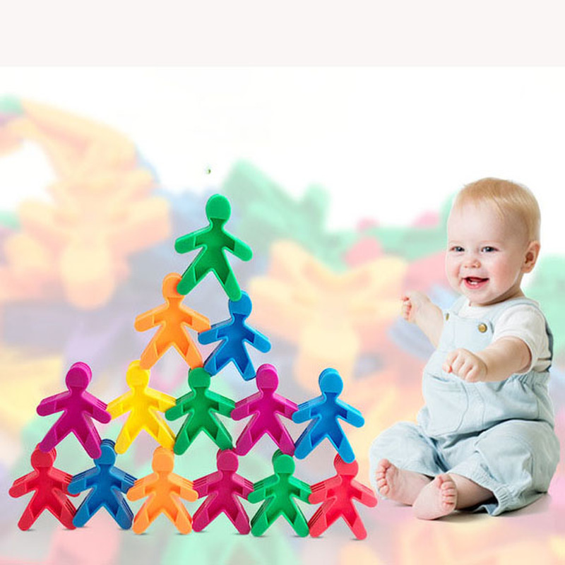 New DIY design building blocks childrens toys boys and children compatible humanoid education model educational