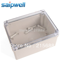 Saipwell NEW WATERPROOF INDUSTRIAL USE IP65 150 200 100MM TERMINAL BOX WITH THE CLEAR COVER DS