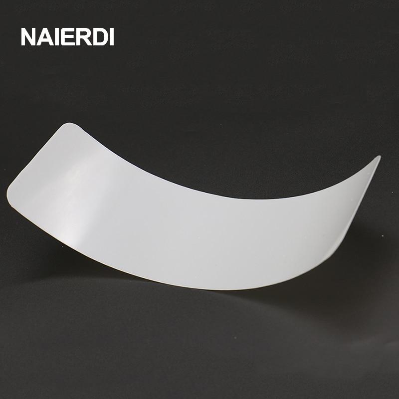 NAIERDI 5 PCS Dureza do Plástico-Aço Inserir Folha De Serralheiro Ferramentas Nano PlasticSteel Portas Joggling Ferramentas de Bypass Abridor de Bloqueio DIY