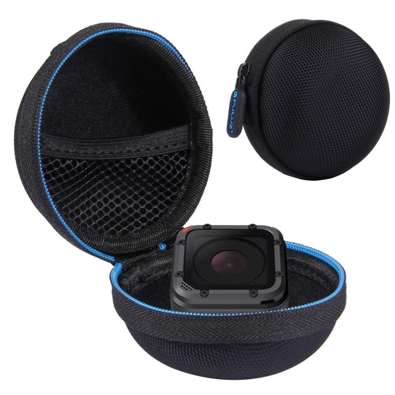 все цены на PULUZ For Gopro Hero 5 Case Accessories Super Mini Storage Case Box for GoPro HERO4 Session cases Sport Camera Accessories онлайн