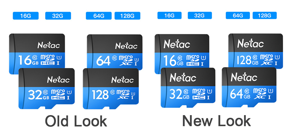 Netac Class 10 32GB 64GB 256 GB Micro SD Card 16GB 128GB 32 64 GB TF Card Data Storage Flash Memory Card For Smartphone Phone 11