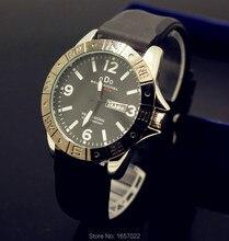 Las principales marcas de hombre de negocios calendario relojes correa de silicona a prueba de agua para las mujeres Luminoso Militar deportes de pulsera