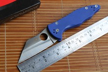 Fule OEM Spider Yojimbo 2 C85 logo Folding Knife Knives s30v Blade G10 Handle Camping Hunting Survival Knife Outdoor EDC Tools