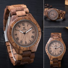 Fashion New Arrival Antique Walnut Wood Lovers Luxury Watches Men Wooden Wristwatch for Men Women Nature Top Luxury Brand
