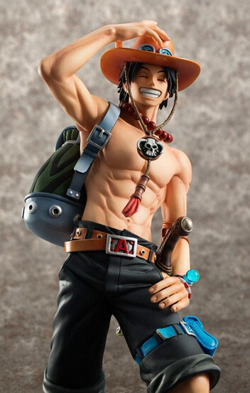 ФОТО Wholesale 5pcs 10th anniversary version anime one piece pop Ace pvc figure character tall 22cm in color box via EMS.