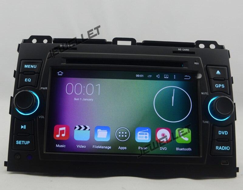 Quad core 1024*600 HD screen Android 7.1 Car DVD GPS radio Navigation for Toyota Prado, Lexus GX 470 2002-2009 with 4G/Wifi,DVR