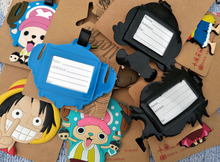 One Piece Luffy Luggage Tag