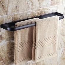 2015 новое поступление масло втирают бронзовый закончил ванная комната двойное адвокатское сословие полотенца твердой латуни двойной вешалка для полотенец