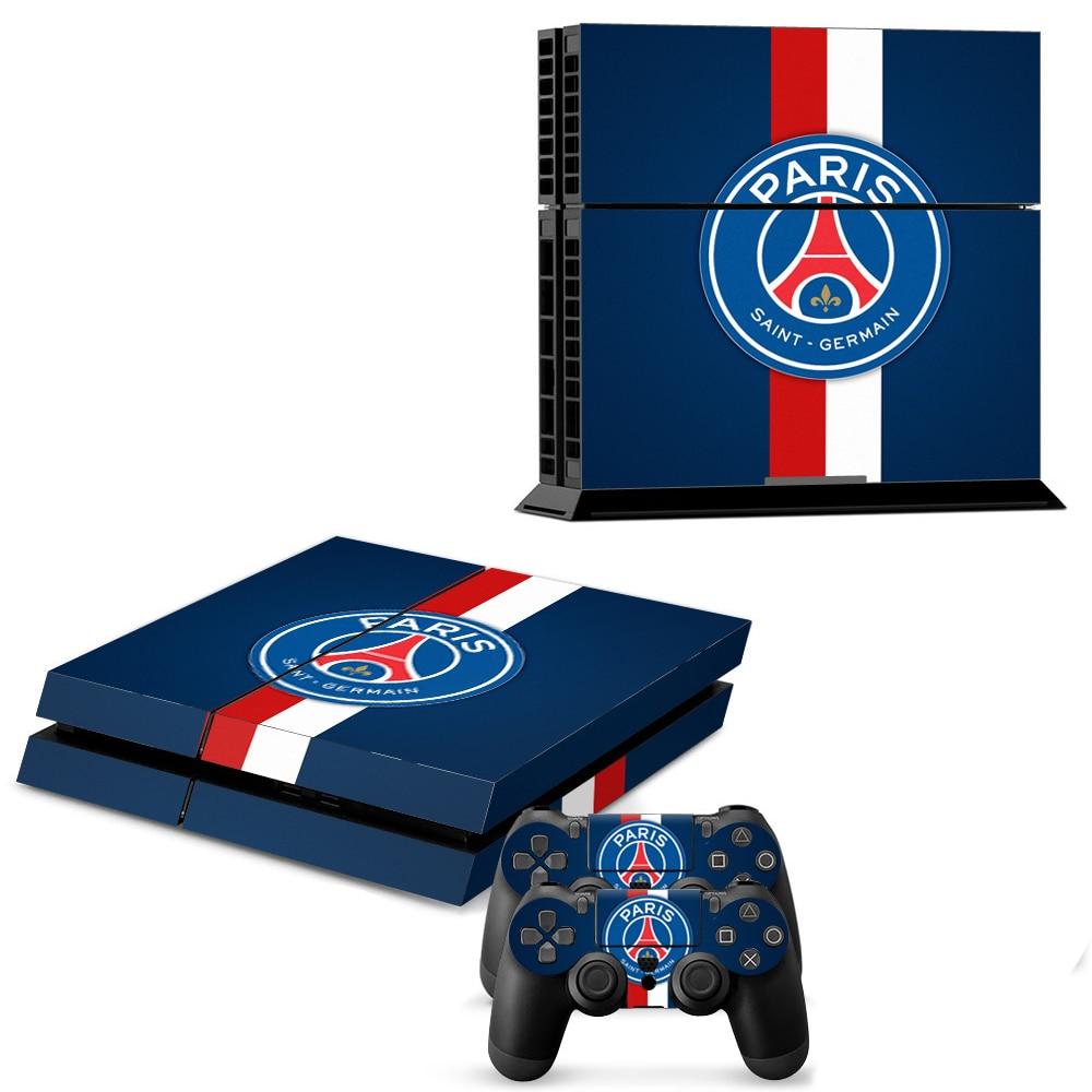 Untuk Ps4 Stiker Kulit Stiker Konsol Faceplates Psg Kualitas Tinggi Controller Decal Olympique De Marseille Marseille Aliexpress