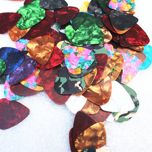 Image 5 - 10/20 Pcs New Acoustic Picks Plectrum Celluloid Electric Smooth Guitar Pick Accessories 0.46mm 0.71mm 0.96mm