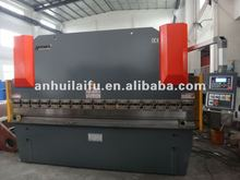 8mm hydraulic plate bending machine 8ft sheet metal bender 4 mtr cnc press brake 200 Tons