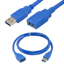 USB 3 0 A Male Plug To Female Socket Super Fast Extension font b Cable b