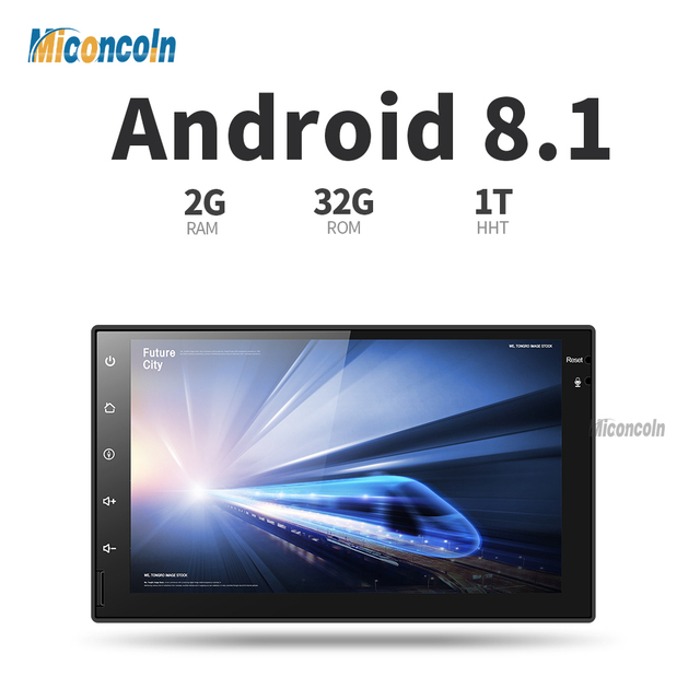 CWD7060 2G android 8.1.2 car dvd gps navigation radio video player stereo universal 2 din radio car multimedia player gps