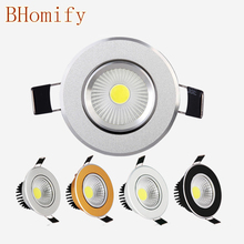 LED downlight 9W 12W 15W led COB light dimmable DOWNLIGHT  lamp Recessed Spot AC110V-220V for home illumination