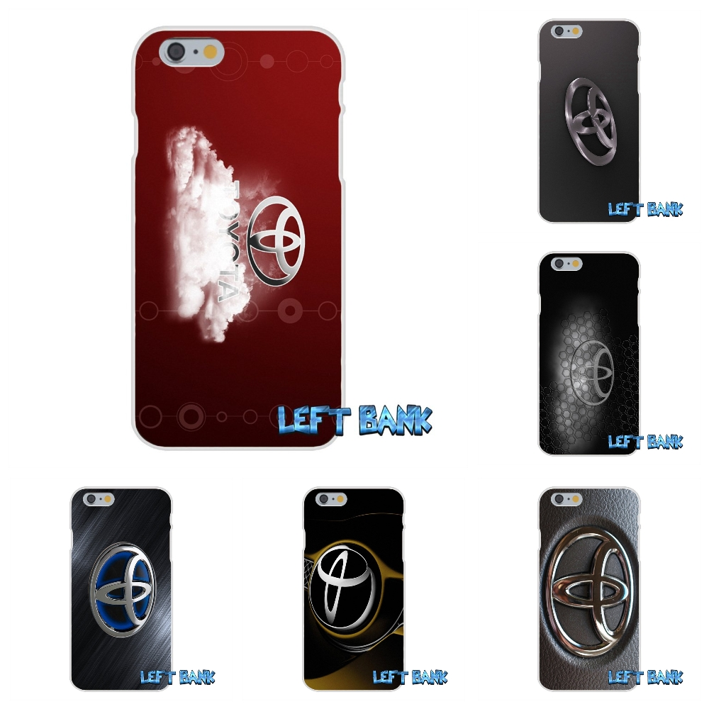For TRD Toyota Racing Logo Soft Silicone TPU Transparent Cover Case For iPhone 4 4S 5 5S 5C SE 6 6S 7 Plus