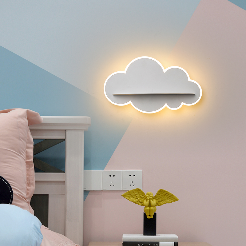 Modern LED Wall Sconce Lights lamp for bedside Corridor aisle Acrylic Cloud Wall Lights for home