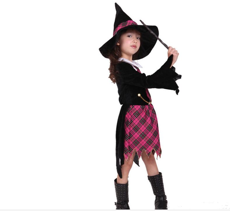 Children Fantasia cosplay little Witch costume Abra Academy Little girl suits Halloween Christmas party clothing carnival dress-in Girls Costumes from ...  sc 1 st  AliExpress.com & Children Fantasia cosplay little Witch costume Abra Academy Little ...