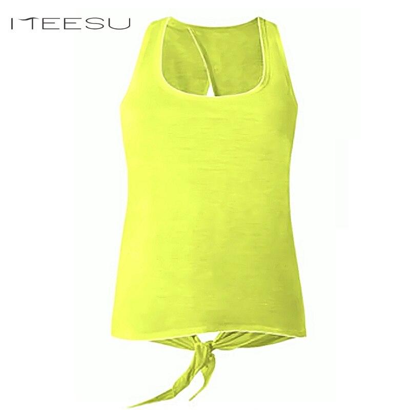 Fitness Shirt Sexy Femmes gilet Sans Manches T-shirt Sexy Sport Yoga Blouse À Séchage Rapide T-shirt Femmes Yoga Creux Halter gym top