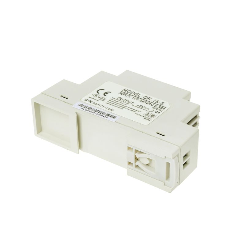 Zuanty DR-15W 12 V 15 V 24 V 12 V. Alimentatore a commutazione industriale DIN 5 V