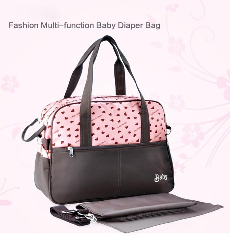 insular multifunctional diaper bags maternity mummy handbag baby care stroller bag High capacity mother Messenger nappy bags 16